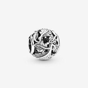 Pandora Jewelry - Pandora Hollow Beaded Leaves